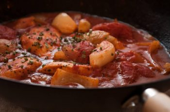 Pangasius in tomato sauce –Your everyday fish