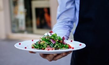 Whole pangasius salad with pomegranate seeds - Your everyday fish