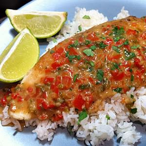 Pangasius With Thai Coconut Curry