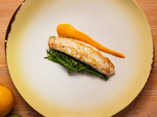 Pangasius, hot pumpkin, and snow peas – Your everyday fish